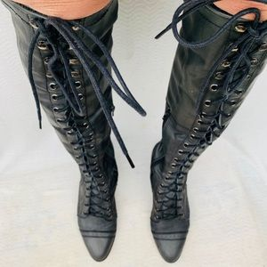 Jeffrey Campbell Free People Joe Lace Up Combat 7